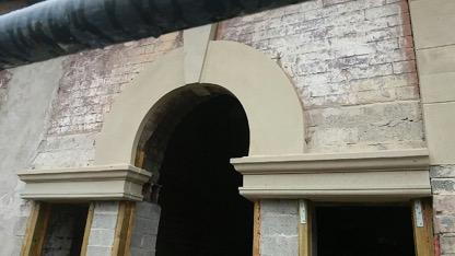 Stone Repairs at Former Leeds Girls Grammar School