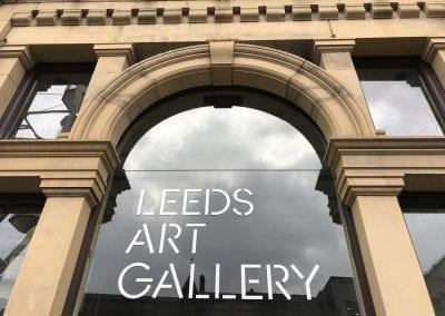 Sign Leeds Art Gallery