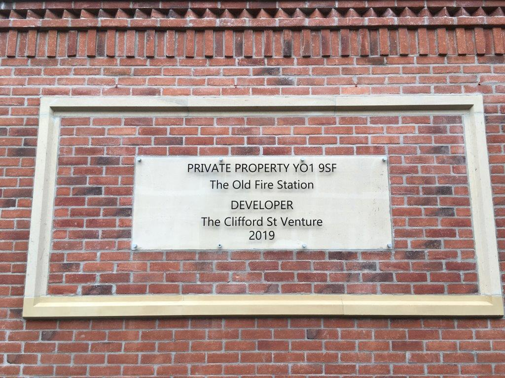 Former Fire Station York