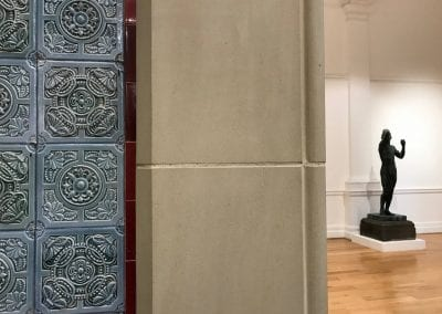 Tiles Stone Statue Leeds Art Gallery