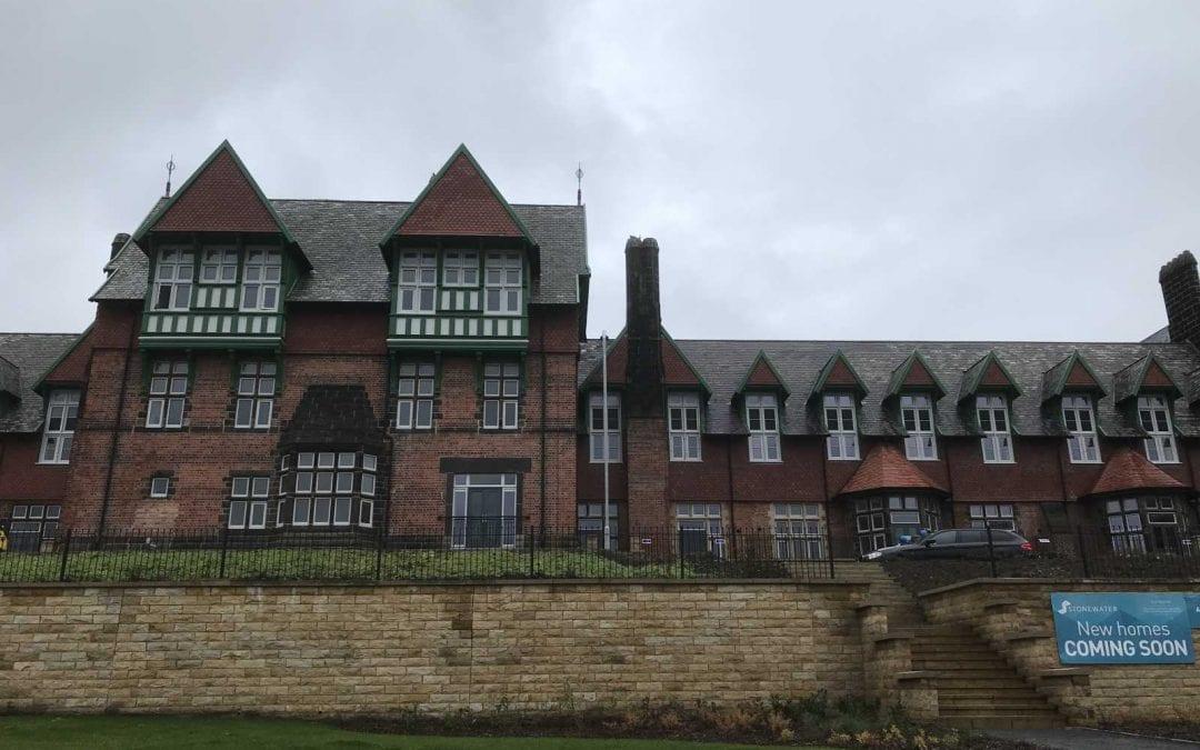 Cookridge Hospital Stonework In BRC Leeds Ltd