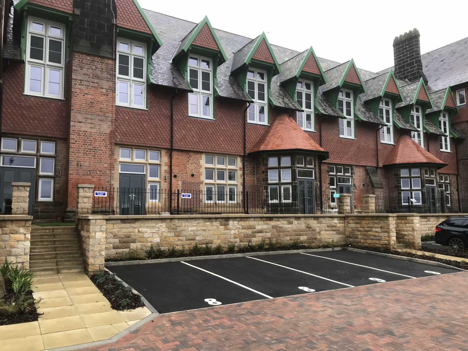 Windows At Cookridge Hospital In BRC Leeds Ltd