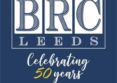 BRC 50 Years - Square Logo