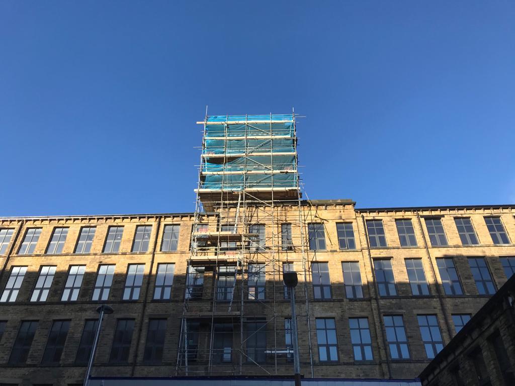 Globe Mills Tower In BRC Leeds Ltd
