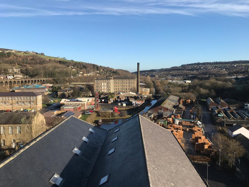 Globe Mills Water Tower View From the Top